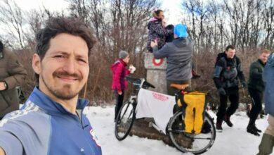 """Photo of Planinari """"ispenjali"""" Golemi Stol: Dalibor iz Leskovca biciklom"""