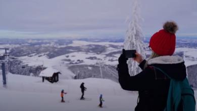 Photo of Zlatni TORNIK pod snegom: Iz vazduha još lepši – Uživajte! (VIDEO)